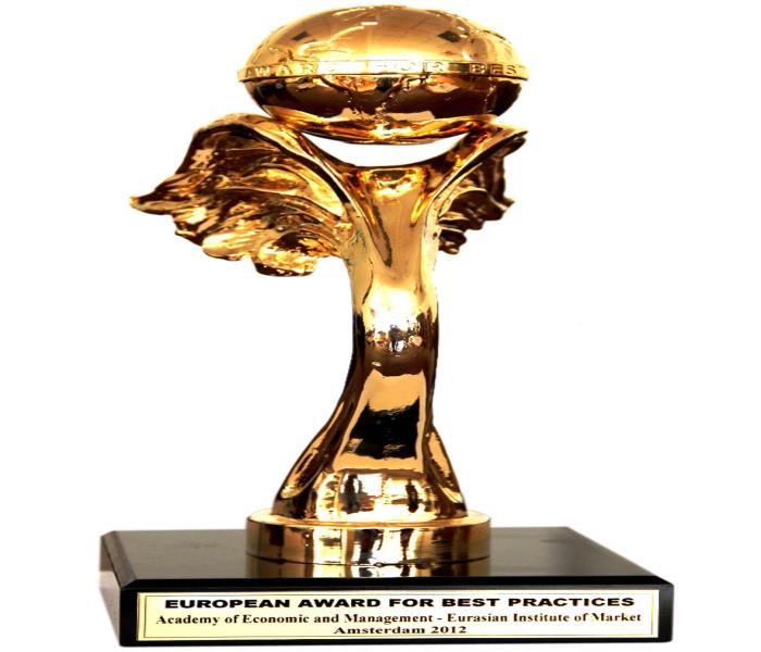 جایزه بین المللی بهترین روش های کیفیت هلند 2012